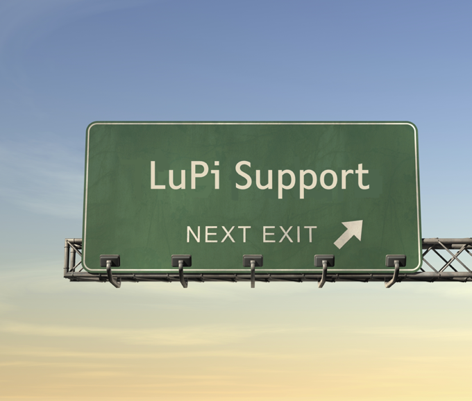 Road Sign LuPi Support